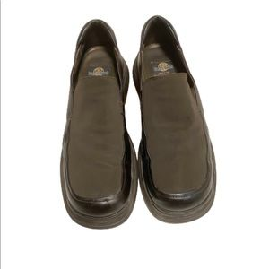 Bacco Bucci leather men's brown slip on loafers 14